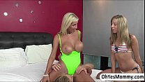 threesome in ends and boyfriend chastys with cheating is evita Milf