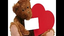 ♡ Valentines Day Teddy Bears Ideas ♡ I Love You Teddy Bear for Valentine's day