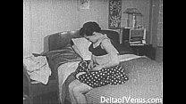 fuck voyeur pussy, shaved - 1950s porn Vintage