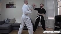 Jessie Colter vs Sebastian Keys Karate Foot Match