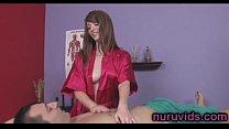 Nikki Rhodes hot massage