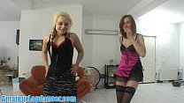 Naugthy czech teens doing lapdance and more