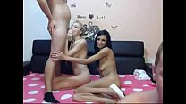 Hot Foursome Double Cum in Mouth 2, Free Porn 70:
