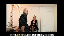 Busty blonde burlesque dancer Charlee Chase fuc...