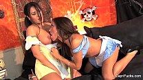 Sexy Lesbian Maids With Carpri Cavani