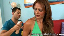 Hot Cougar Gets Fucked