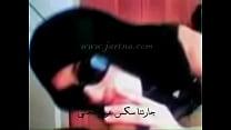 arab girl nice blowjob with her veil hijab