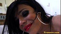 Solo latina tranny spreading her buttcheeks