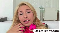 Teen Carmen Caliente gets her pussy fondled by ...