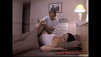 Miki Sato and young boy - sleeping (part 2 of 9)