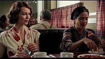 Salma Hayek & Saffron Burrows In Frida