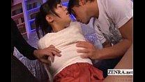 Subtitled uncensored spread Japanese AV devils ...
