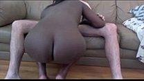 Negra gosta de ser fudida com rola branca