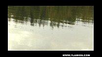 Lesbian latinas in the lake