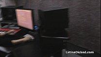 Latina pop star wannabe blows