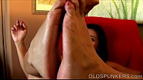 Super sexy MILF fucks her soaking wet pussy just for you