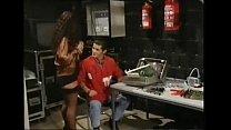 Big Busty Tiziana Redford Mega Boobs in Red lin...