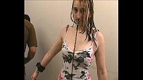 Bizarre facial punishment and nose torment of a...