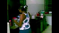 Tamil girl fucked in kitchen