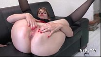 Amateur chubby French milf with big butt pussy ...