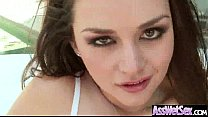 Hard Anal Bang On Cam With Big Curvy Butt Hot Girl (allie haze) clip-03