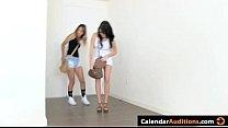 3 Hot Teens Attack At Hardcore Seductive XXX Calendar Audition