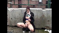 Indian Teen Zarina Masood Flashing Nude In Public