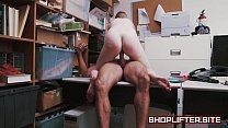 Dolly Leigh Blackmailed And Fucked By Store Det...