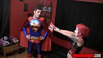 Harley Quinn Fucks Superman STRAPON CLOWN