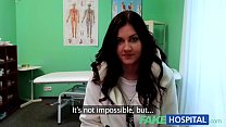 Fake Hospital Doctors magic cock produces vocal...