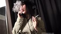 Kyanna Lee - Smoking Fetish at Dragginladies