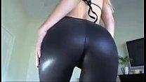 Shiny Black Leggings