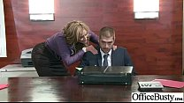 (eva notty) Big Tits Girl In Office Have A Hard...