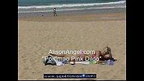 Angel Beach masturbation