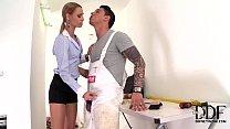 Horny Babe Erica Fontes Deepthroats & Gets A Fa...
