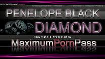 Penelope Black Diamond - sexy us monokini - bik...