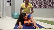 cute flexible gymnast teen fucked