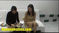 Slim and funny czech chick at the first casting