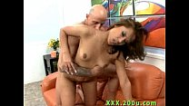 Latina Fucked so Hard her Pussy Squirt