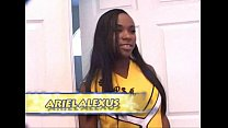 Ariel Alexus In A Cheerleading Foursome