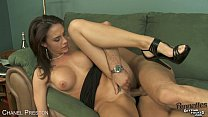 Brunette Chanel Preston Ride Anally A Big Dick