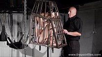 Tit tormented and caged slaveslut Elise Graves ...
