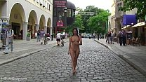 Agnes Naked In Public Streets