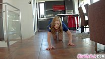 Give Me Pink tight pussy stretched by massive d...