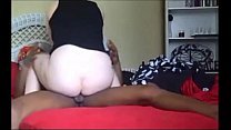 Amateur milf hooks up with black guy