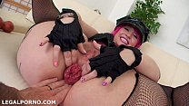 Moster of DAP, Proxy Paige balls deep No 5 dap position, GAPES/FARTS/3SWALLOWS/ANAL FIST