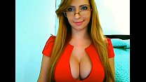 Big tits secretary from 69webcam.net liveshow
