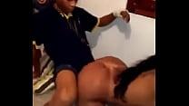 Funkera deu o rabo na suruba na favela e caiu no whatsapp