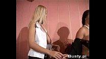 Bea Flora And Ines Cudna - Strip Poker