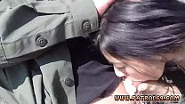 Brunette red dress Mexican officer prpopses Kimberly Gates easier way